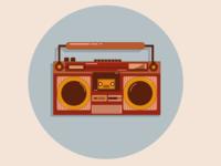 vintage casset player 01