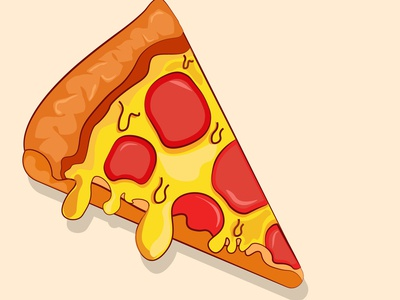 one slice pizza ( food icon)