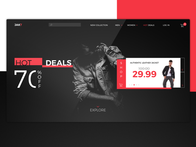 Store landing page store clothing brand clean interface design inspiration website web ux landing landing page creative homepage ui  ux design ui