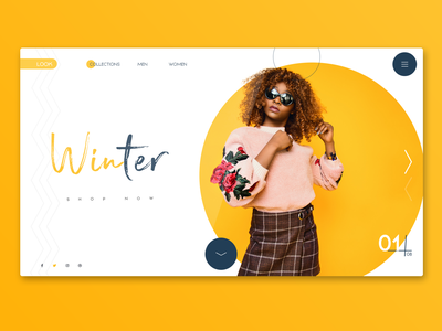 Clothing brand landing page clothes app minimal interface clean website web landing page landing inspiration homepage design ux ui creative