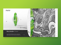 Surfing board shop landing page