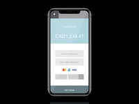 #dailyui #002 - Credit Card Checkout