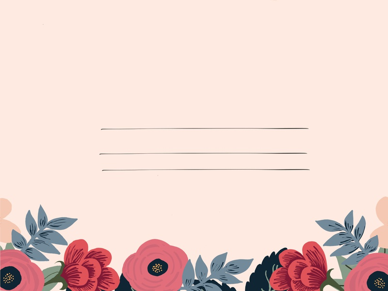 LETTER TO MY LOVER flowers staciarasplicka fashion lover rose pink cute mute pastel floral flower illustration procreate graphic design