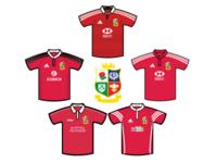British & Irish Lions Shirts