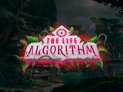 The Life Algorithm game design video game art design branding logo illustration