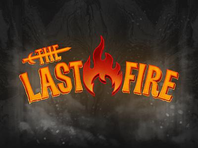 The Last Fire 3d illustration design branding logo