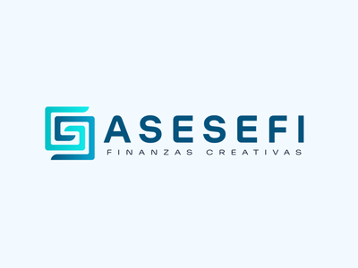 ASESEFI Logo economics finance typography finance logo logo