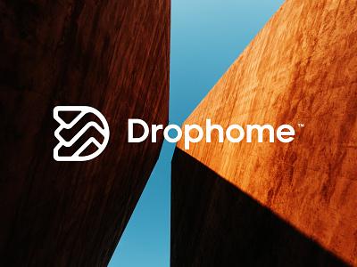 drophome™ home graphic design simple symbol modern top vask photography logotype logo design logo mark brand design brand icon typography ui ux illustration design logo