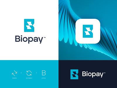 Biopay™ concept minimal simple symbols mark ecommerce ecology payment pay nature illustration symbol branding logo design ux ui graphic  design design brand logo