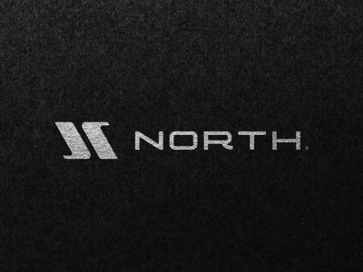 NORTH® concept startup icon modern symbol photography futuristic minimalist simple monogram logotype engineering illustration vector logomark mark logo design branding brand logo