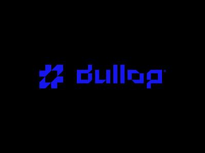 dullop® Logo design crypto exchange startup icon gradient futuristic concept symbol simple minimalist vector illustration logomark mark logo design branding brand logo
