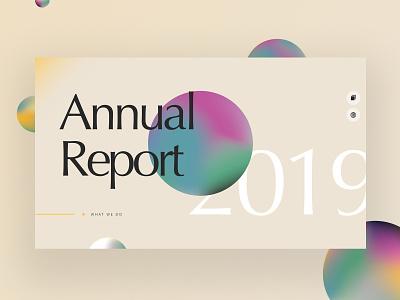 Annual Report Single Page Website education website vector illustration website typography custom ux ui design educational digital annual report education