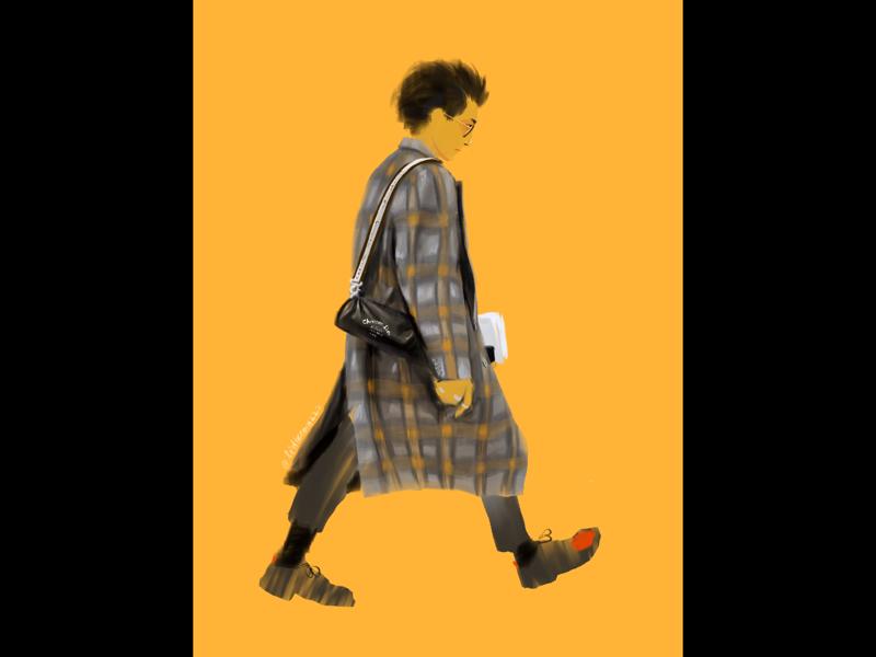 Illustration#4 digital art ipad illustration fashion character design