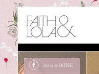Faith & Lola Website