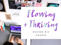 Flowing + Thriving Graphic