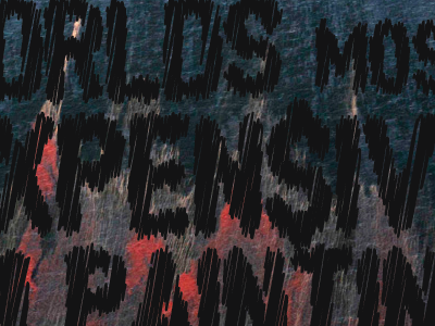 The World's Most Expensive Oil Painting thebigcaption typography