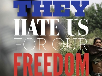 They Hate Us for Our Freedom thebigcaption typography
