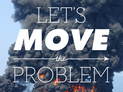 Let's Move the Problem thebigcaption typography