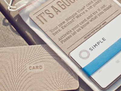 Simple Card Packaging packaing laser kraft blue card simple product packaging muslin bag laser engraved rubber band