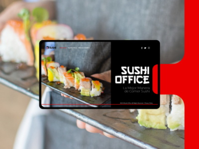 Sushi Office - Web Ui Home