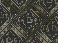 Gold Leaf Print