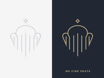 MS Cine Seats - Logo Designing   Brand Identity