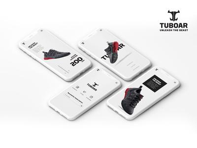 Tuboar - Mobile view of Tuboar website