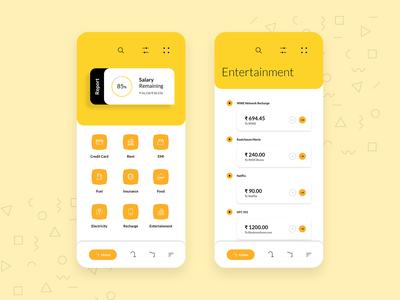 Savr - Wallet App | Expenses App | Mobile UI