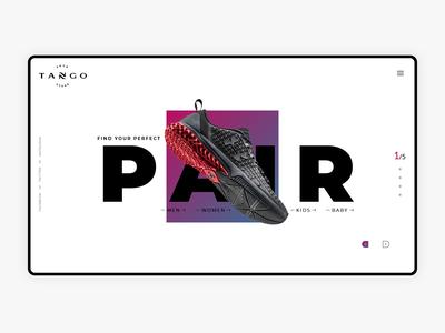 Tango Shoe Store - Web UI