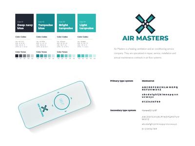 Airmasters Logo   Branding   Corporate Identity