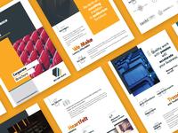 Brochure Design for MS Cine Seats