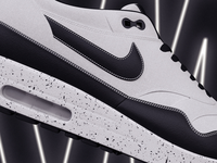 Nike AirMax 3D Render.
