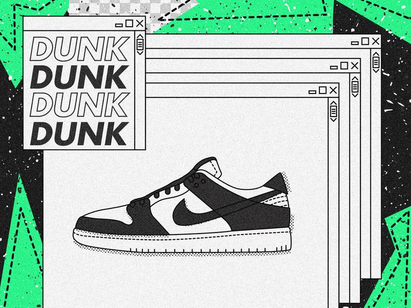 Nike SB Dunk Low.