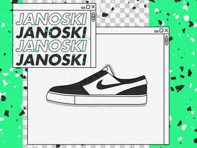 Nike SB Janoski.