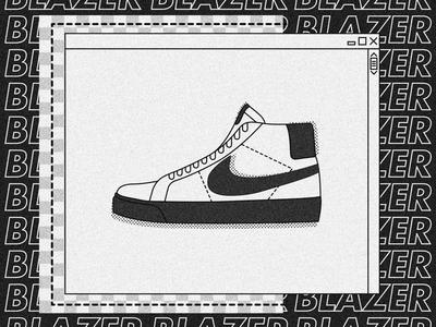 Nike SB Blazer.