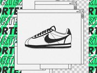 Nike Cortez.