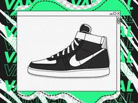 Nike Vandal High.