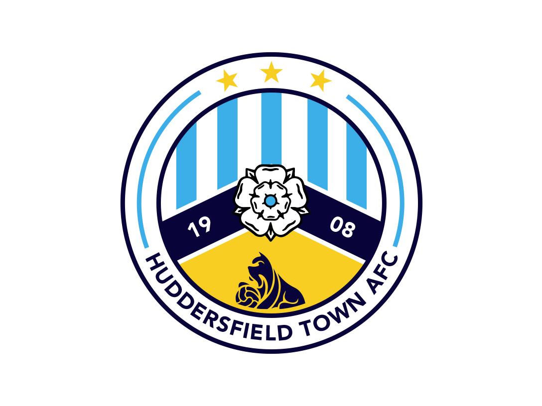 Huddersfield Town AFC Logo Concept. football football crest soccer badge crest football club typography vector graphicdesign design illustrator illustration 2d brand identity branding brand concept logo huddersfieldtownafc htafc huddersfield