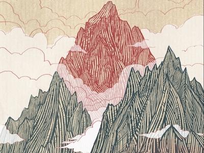 Grand Teton Ski Topsheet