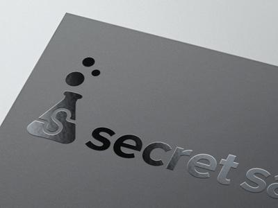 Secret Spot Uv Logo Mockup