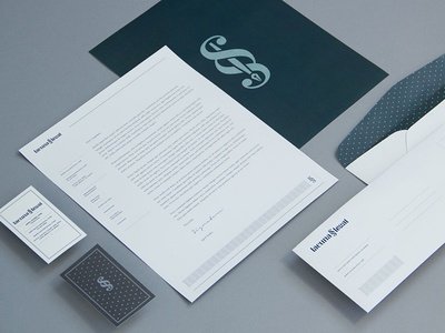 Lacuna Legal Brand Identity 1 Dribbble