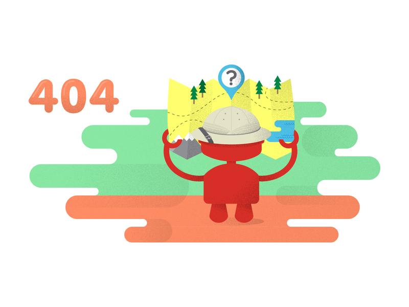 404 Error Illustration for Sauce Labs ps design sauce labs branding graphic design ux ui web design 404 error illustrations error page