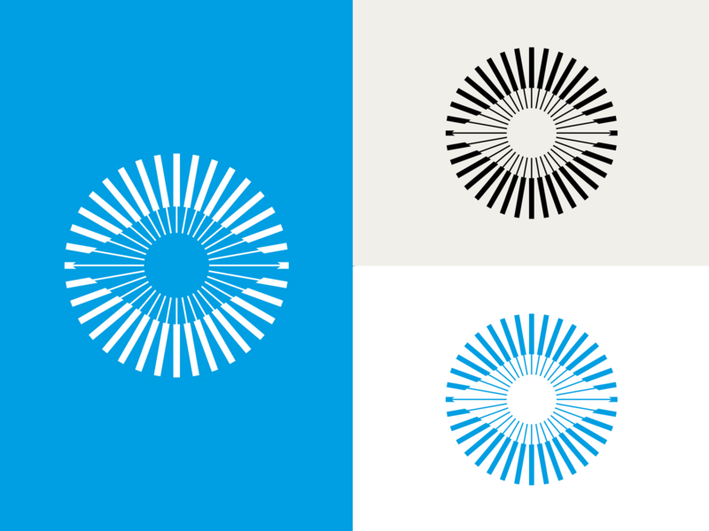 logo dribble pres print graphic design brand optical eye mark visual identity logos logo branding