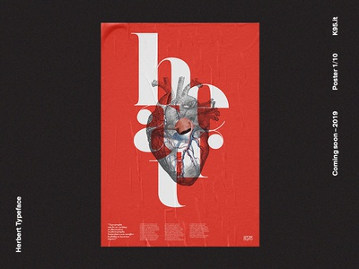 Herbert Typeface - Poster 1/10 typography design lubalin font typeface