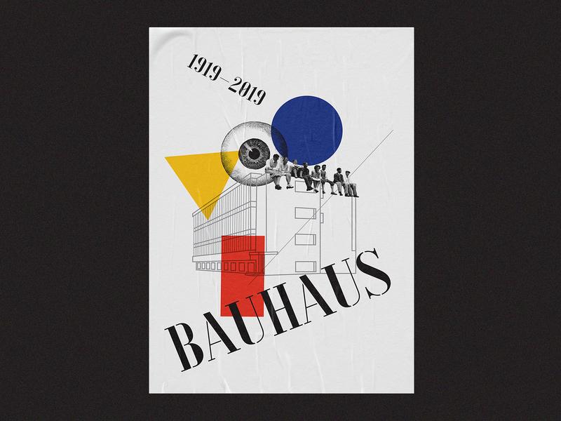 Bauhaus Poster 02/03 bauhaus typeface font print typography graphic poster
