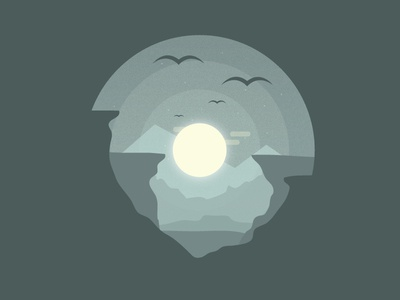Explorer Series : The Caves. (Day 1 - ReDo) texture gradient graphics caves illustration illustrator vector graphic design design