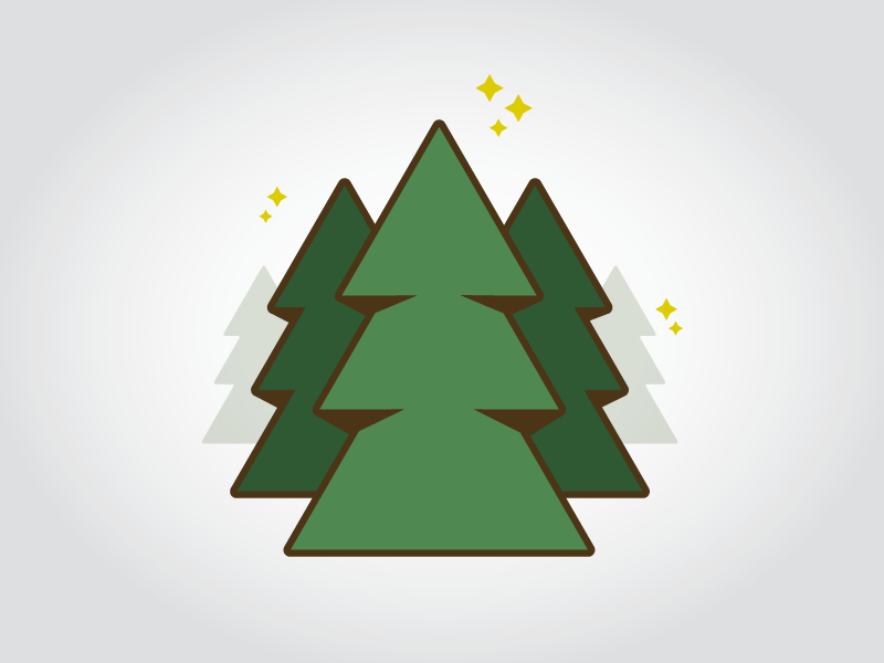 Tree Icons - WIP by Jeremiah J. Corder - Dribbble