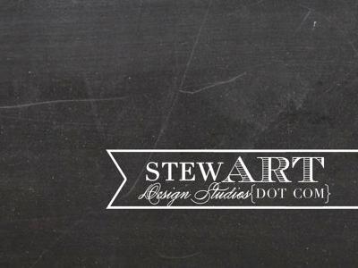 Chalk board back logo