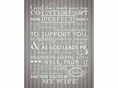 Jeremiah s vows