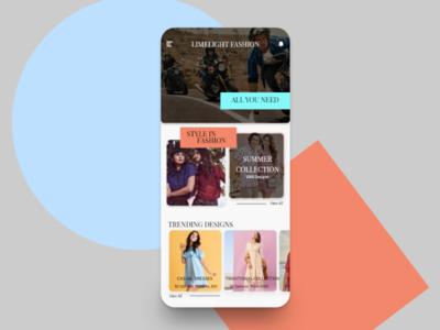 Fashion Store Homepage